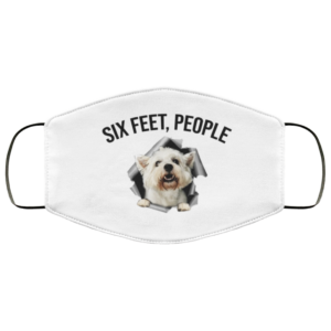 redirect 546 300x300 - West Highland White Terrier six feet people face mask