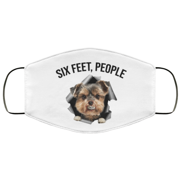 redirect 548 600x600 - Yorkshire Terrier six feet people face mask