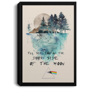 redirect 564 300x300 - I'll see you on the dark side of the moon poster