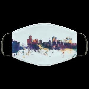 redirect 652 300x300 - Winnipeg Canada Skyline face mask