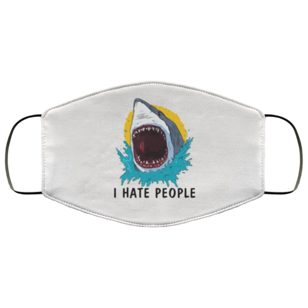 redirect 762 600x600 - Shark I hate people face mask