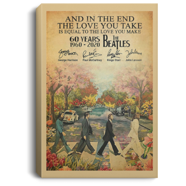 redirect 79 600x600 - The Beatles 60 years 1960-2020 poster, canvas