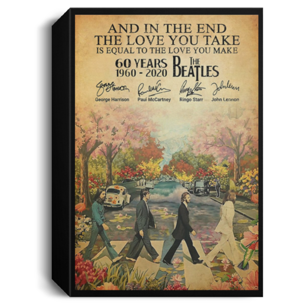 redirect 82 600x600 - The Beatles 60 years 1960-2020 poster, canvas