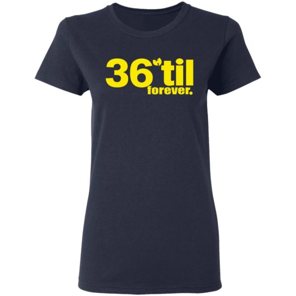 redirect 889 600x600 - Wu-Tang Clan 36 til forever shirt