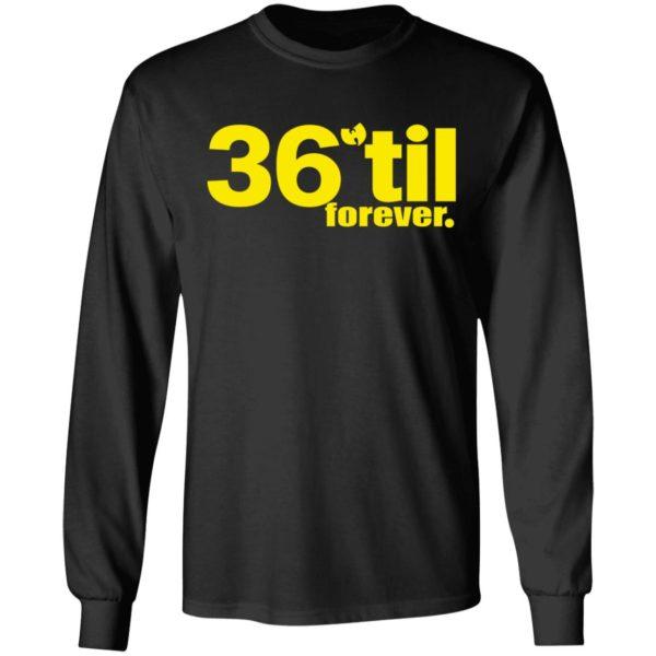 redirect 890 600x600 - Wu-Tang Clan 36 til forever shirt