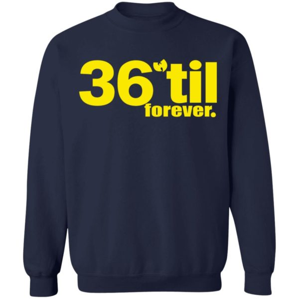 redirect 895 600x600 - Wu-Tang Clan 36 til forever shirt