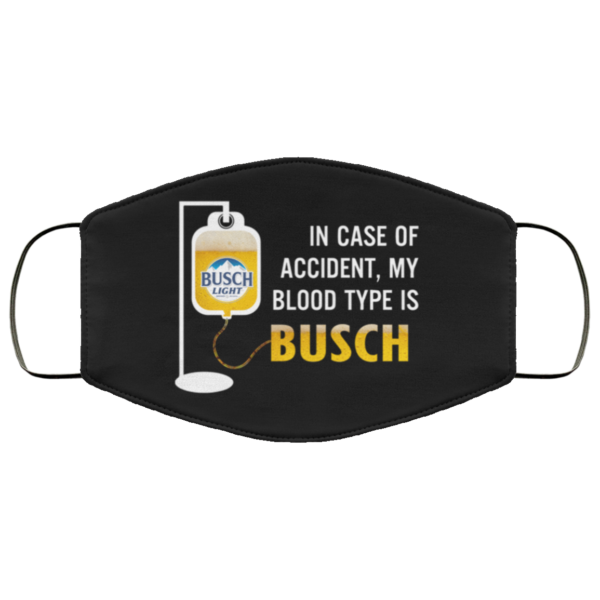 redirect 116 600x600 - In case of accident my blood type is Busch Light face mask