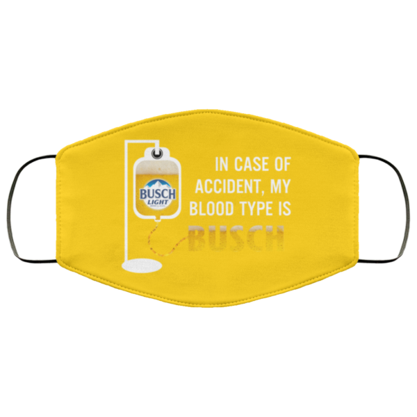 redirect 118 600x600 - In case of accident my blood type is Busch Light face mask