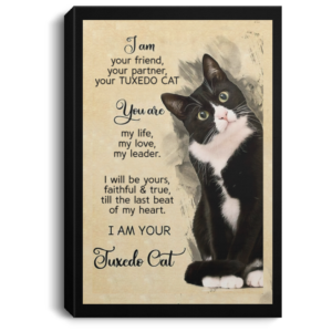 redirect 201 300x300 - I am your friend your partner your Tuxedo Cat poster