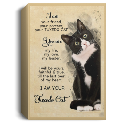 redirect 206 400x400 - I am your friend your partner your Tuxedo Cat poster