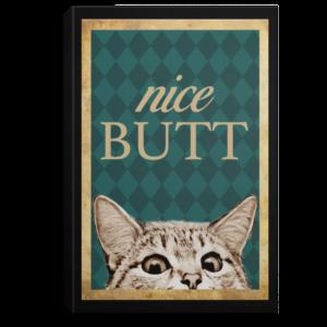 redirect 207 300x300 - Cat nice butt poster