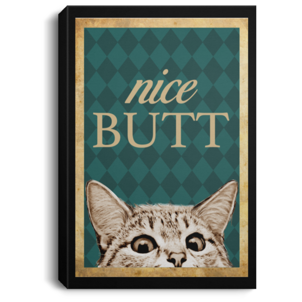 redirect 207 600x600 - Cat nice butt poster