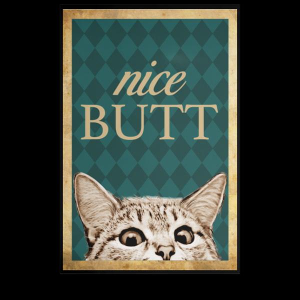 redirect 209 600x600 - Cat nice butt poster