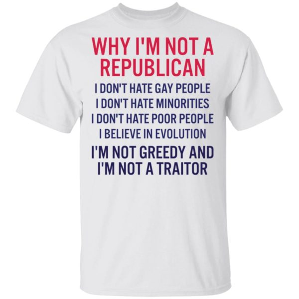 redirect 260 600x600 - Why i'm not a republican i don't hate gay people i don't hate minorities shirt