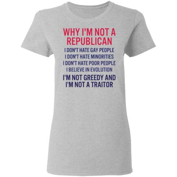 redirect 263 600x600 - Why i'm not a republican i don't hate gay people i don't hate minorities shirt