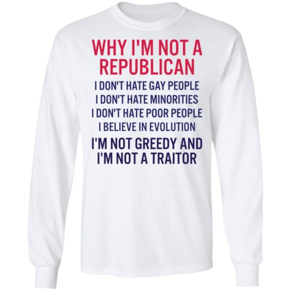 redirect 265 600x600 - Why i'm not a republican i don't hate gay people i don't hate minorities shirt