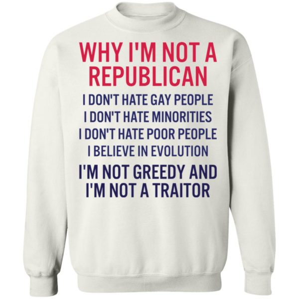 redirect 269 600x600 - Why i'm not a republican i don't hate gay people i don't hate minorities shirt