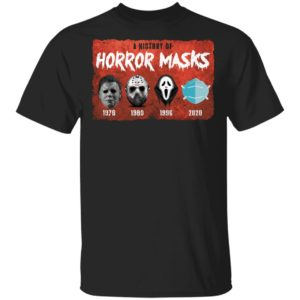 redirect 3898 300x300 - A history of horror masks shirt