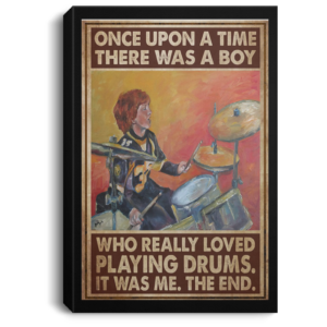 redirect 407 300x300 - Once upon a time there was a boy who really loved playing drums it was me the end poster