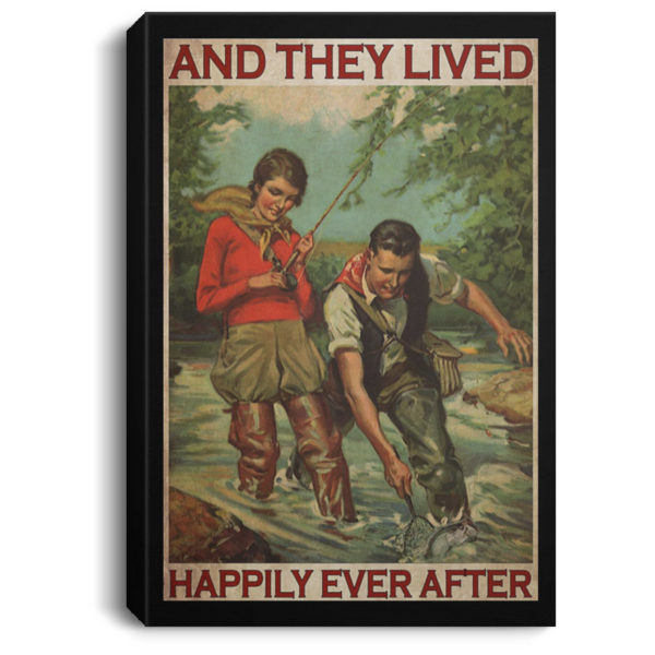 redirect 413 600x600 - Fishing and they lived happily ever after poster