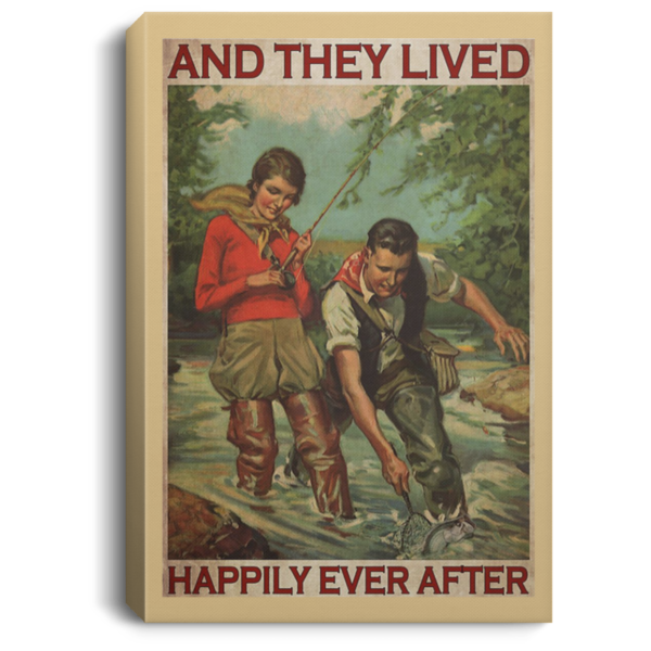 redirect 414 600x600 - Fishing and they lived happily ever after poster