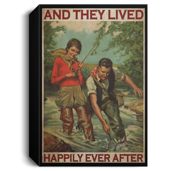 redirect 417 600x600 - Fishing and they lived happily ever after poster