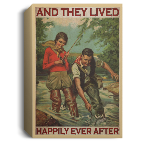 redirect 418 600x600 - Fishing and they lived happily ever after poster
