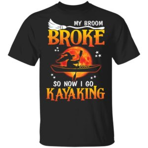 redirect 4460 300x300 - My broom broke so now i go kayaking shirt