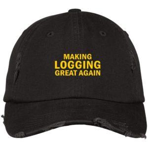 redirect 4590 300x300 - Make logging great again hat, cap