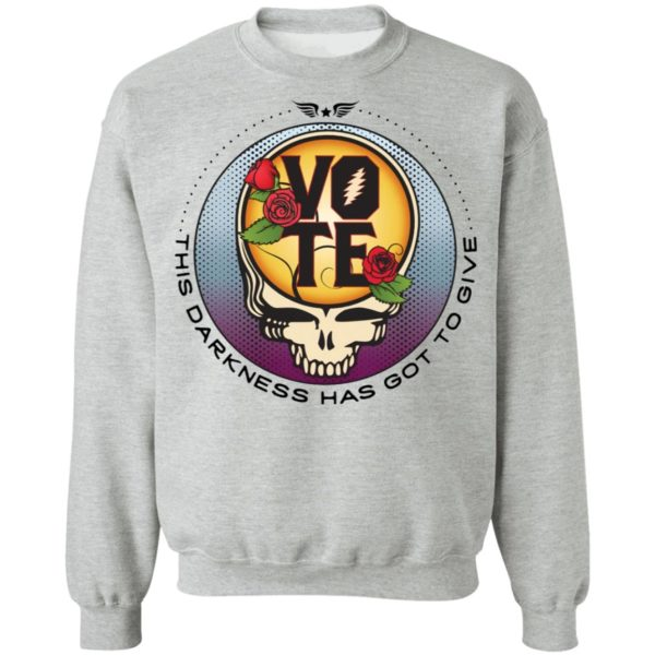 redirect 4738 600x600 - Vote this darkness has got to give shirt