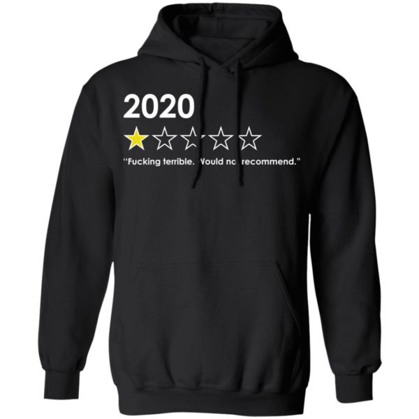 redirect 4766 600x600 - 2020 fucking terrible would not recommend shirt