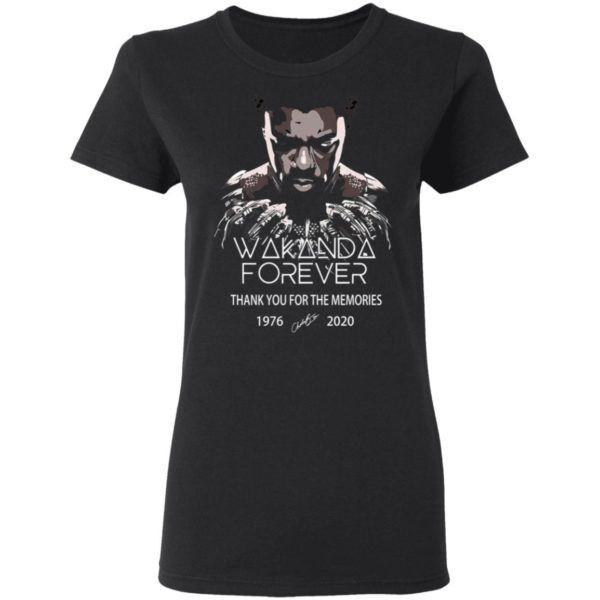 redirect 5042 600x600 - Wakanda forever thank you for the memories 1976-2020 shirt