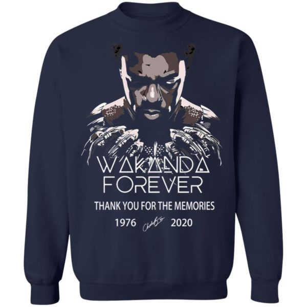 redirect 5049 600x600 - Wakanda forever thank you for the memories 1976-2020 shirt