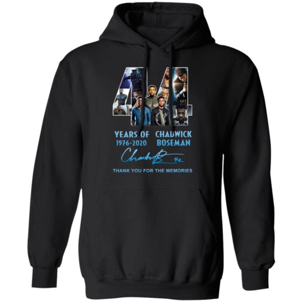redirect 5267 600x600 - 44 years of 1976-2020 Chadwick Boseman thank you for the memories shirt