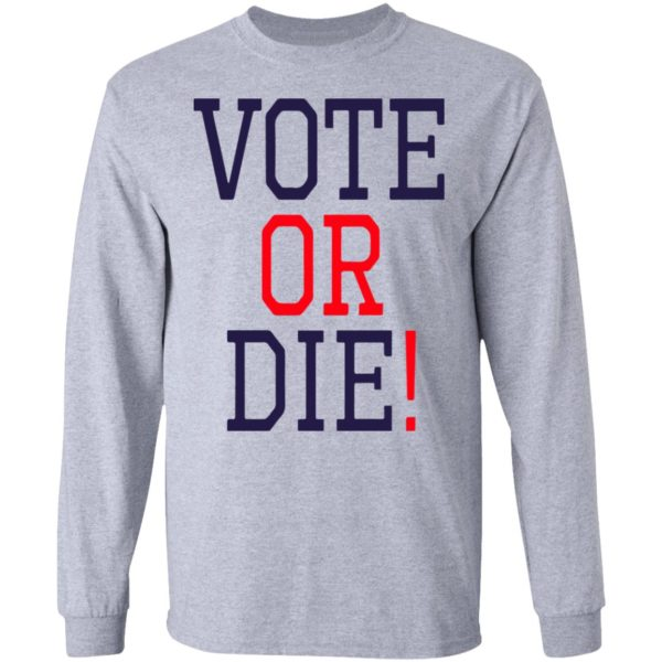 redirect 5375 600x600 - Vote or die shirt