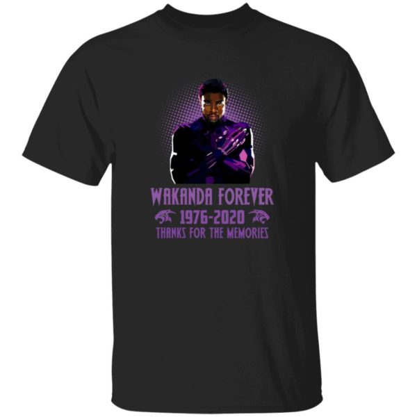 redirect 5401 600x600 - Wakanda forever 1976-2020 thank for the memories shirt