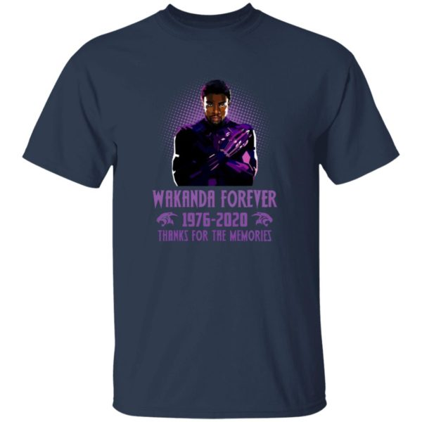 redirect 5402 600x600 - Wakanda forever 1976-2020 thank for the memories shirt