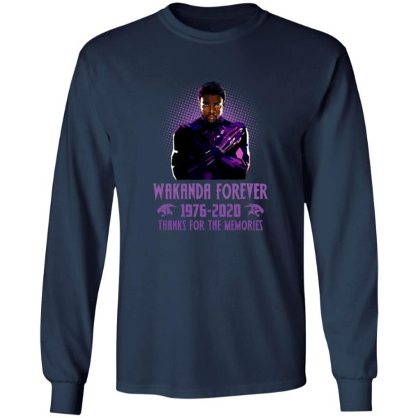 redirect 5406 600x600 - Wakanda forever 1976-2020 thank for the memories shirt