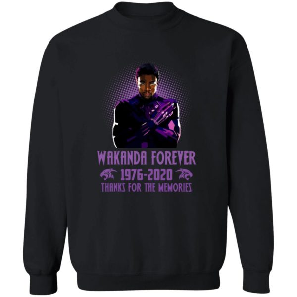 redirect 5409 600x600 - Wakanda forever 1976-2020 thank for the memories shirt