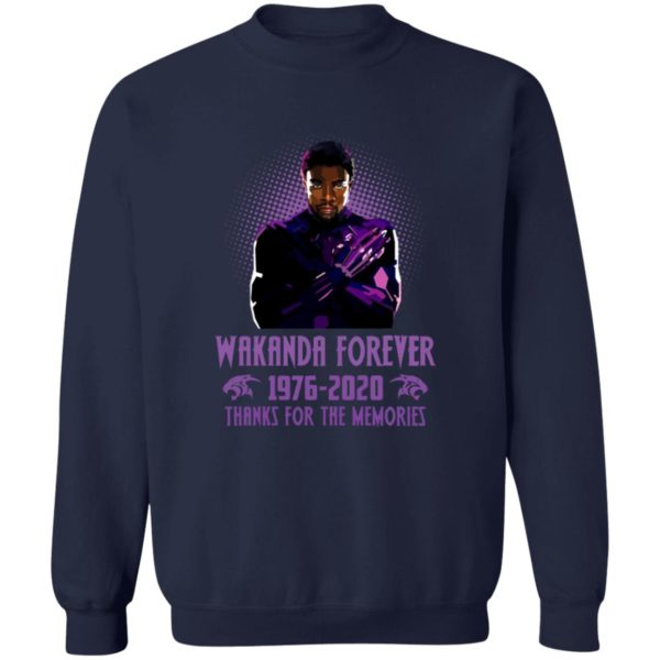 redirect 5410 600x600 - Wakanda forever 1976-2020 thank for the memories shirt