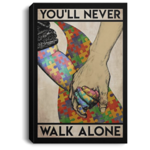 redirect 559 300x300 - You'll never walk alone poster, canvas