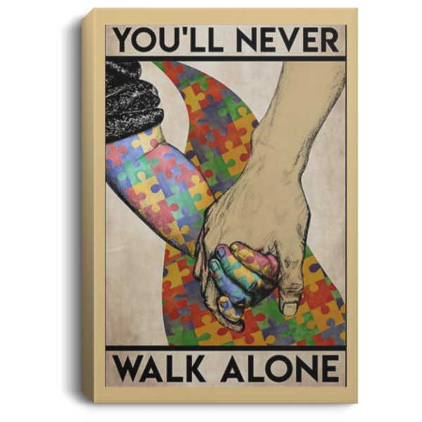 redirect 560 600x600 - You'll never walk alone poster, canvas