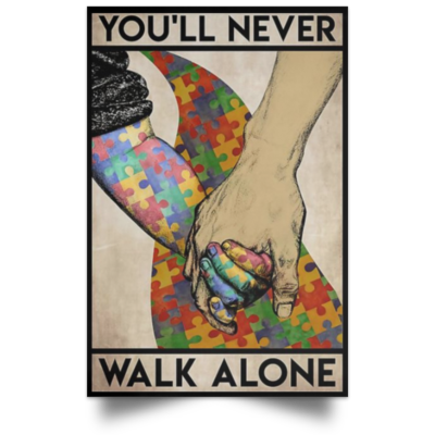 redirect 561 400x400 - You'll never walk alone poster, canvas