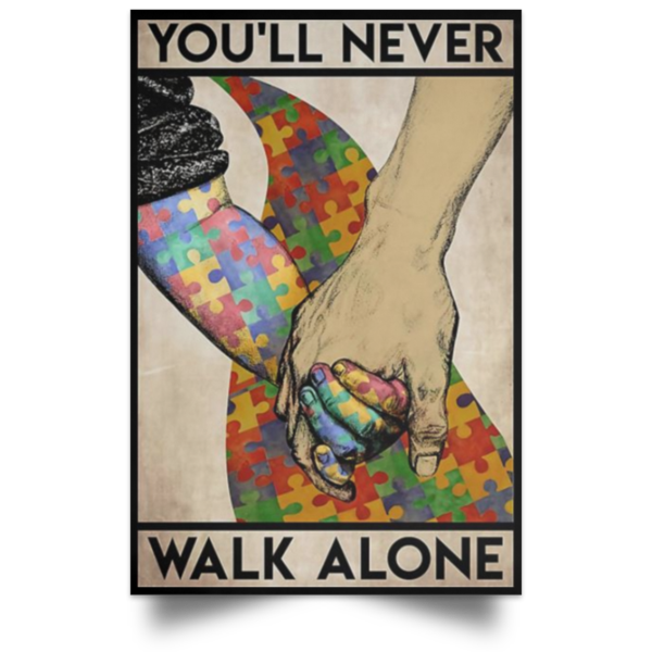 redirect 561 600x600 - You'll never walk alone poster, canvas