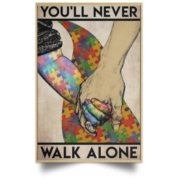 redirect 562 600x600 - You'll never walk alone poster, canvas