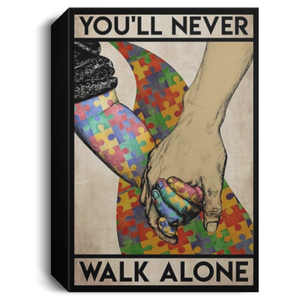 redirect 563 600x600 - You'll never walk alone poster, canvas