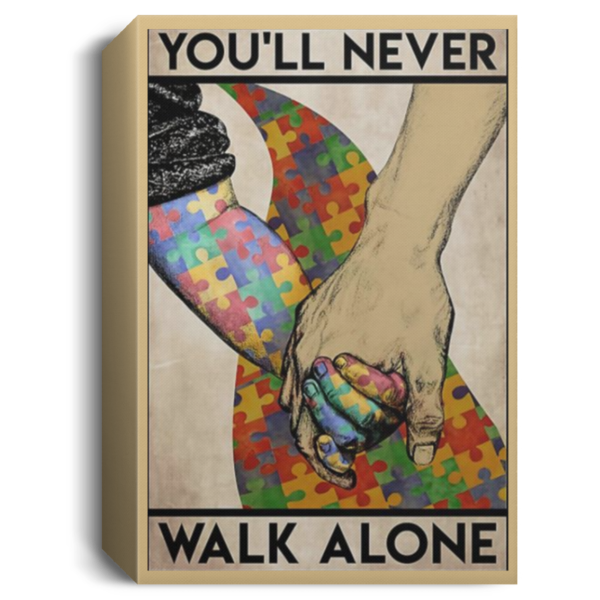 redirect 564 600x600 - You'll never walk alone poster, canvas
