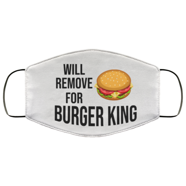 redirect 592 600x600 - Will remove for Burger King face mask