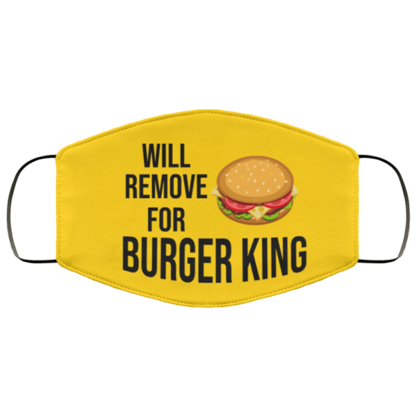 redirect 594 600x600 - Will remove for Burger King face mask
