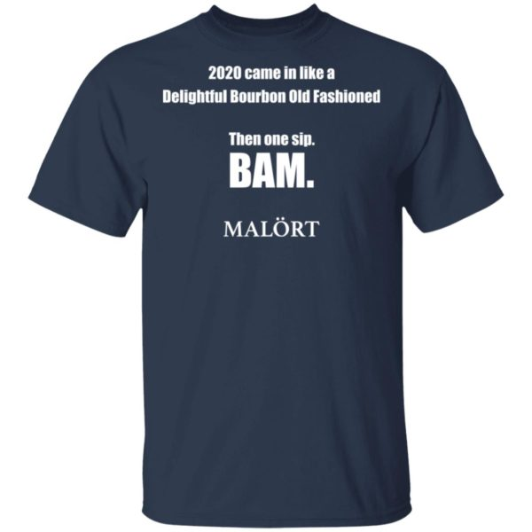 redirect 611 600x600 - 2020 came in like a delightful bourbon old fashioned then one sip Bam shirt